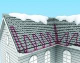 Для обогрева крыши и водостоков